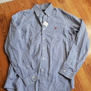 NWT Ralph Lauren Mens Long Sleeve Shirt